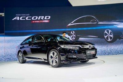 Honda Accord 2020 ra mắt vào tháng 10/2019 tại VMS 2019 1