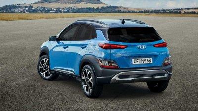 """Hyundai Kona 2021 được """"tút tát"""" hấp dẫn hơn nữa."""