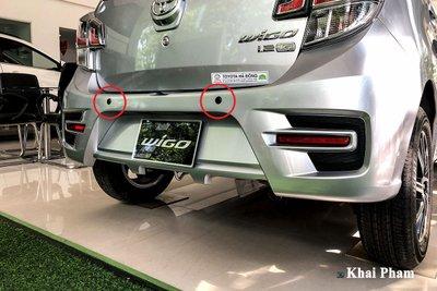 Cảm biến lùi trên xe Toyota Wigo 2020 1