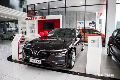 Xe VinFast tụt giảm doanh số tháng 8.