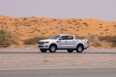 Hành trình thực hiện với Ford Ranger 2020 diễn ra trong điều kiện thời tiết nắng nóng nhất..