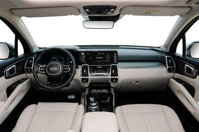Nội thất của Kia Sorento 2020 phiên bản Diesel.