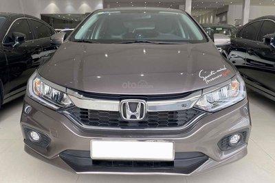 Thiết kế đầu xe Honda City TOP 2018 1