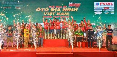 Lộ diện các nhà vô địch PVOIL VOC, khép lại mùa giải đua ô tô định hình năm 2020 A4
