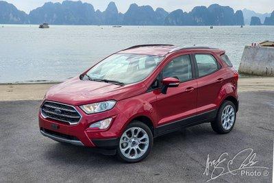 Giá lăn bánh Ford EcoSport 2021 vừa ra mắt.