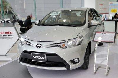 Toyota Vios G 2016 cũ.