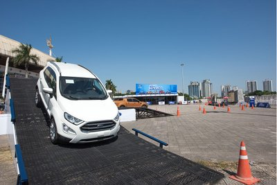 Mẫu Ford EcoSport 2020 cũng sẽ là nhân vật chính của chương trình Ford SUV Drive 2020.