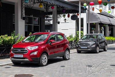 Ford EcoSport 2020 trông gọn gàng và linh hoạt hơn.