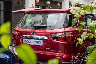 Việc bỏ lốp dự phòng trên Ford EcoSport 2020 gây nhiều tranh cãi.