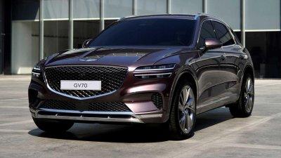 Genesis GV70 2022 ra mắt, thách thức Audi Q5 và BMW X3.