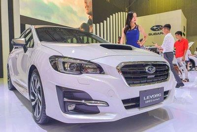 Subaru Levorg bản 2.0 GT-S Eyesight tại VMS 2019 1