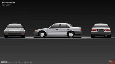 Honda Accord thế hệ thứ 3 với sức mạnh vượt bậc.