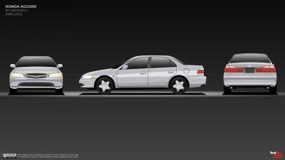 Honda Accord đời 6 tiếp tục thay đổi nhẹ phù hợp với thị hiếu người dùng.