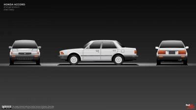 Honda Accord đệ nhị xuất chiến.