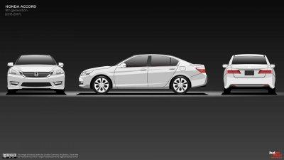 Honda Accord thế hệ thứ 9 làm mới hoàn toàn.