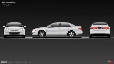Honda Accord thế hệ thứ 7 nâng cấp mạnh về lựa chọn động cơ.