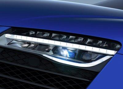 Đèn laser ô tô.