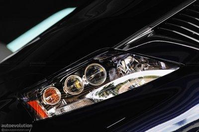 Đèn xenon xe ô tô.