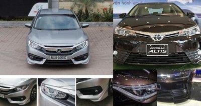 Toyota Camry, Corolla và Honda Civic bán đắt như tôm tươi tại 'trời Tây'.