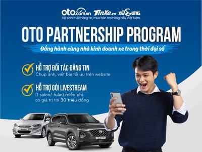 Loạt tính năng mới hỗ trợ người bán ô tô trên Oto.com.vn.