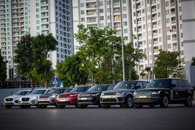 sự kiện trải nghiệm và dịch vụ lưu động của Jaguar Land Rover.