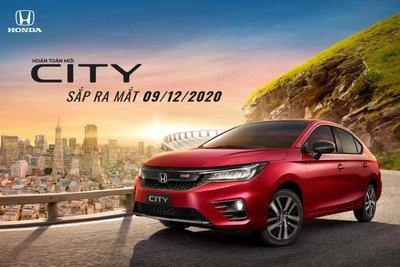 Honda City 2021 sắp ra mắt Việt Nam 1