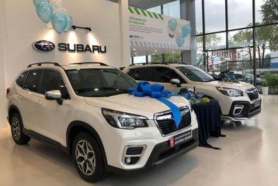 Các khách hàng tham gia khai trương Subaru Sơn Trà 2