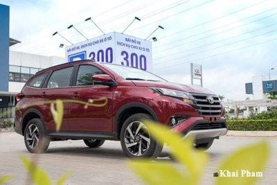 Toyota Rush nhận ưu đãi cuối năm sau khi được điều chỉnh giá.