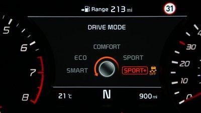 Các chế độ lái thường dùng trên ô tô.