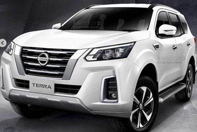 Nissan Terra 2021 xuất đầu lộ diện.