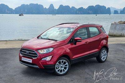 Ford Ecosport 2020 đã bỏ bánh dự phòng phía sau 1