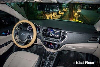 Rộ rõ hình ảnh Hyundai Accent 2021 tại Việt Nam, màn hình là chi tiết gây tranh cãi a51v