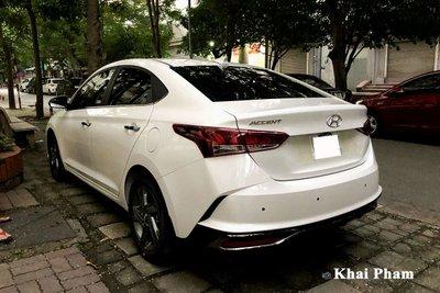 Rộ rõ hình ảnh Hyundai Accent 2021 tại Việt Nam, màn hình là chi tiết gây tranh cãi a51c