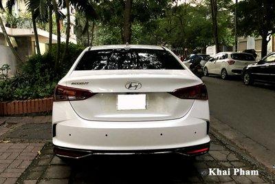 Rộ rõ hình ảnh Hyundai Accent 2021 tại Việt Nam, màn hình là chi tiết gây tranh cãi a4