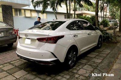 Rộ rõ hình ảnh Hyundai Accent 2021 tại Việt Nam, màn hình là chi tiết gây tranh cãi a51l