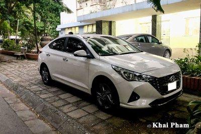Rộ rõ hình ảnh Hyundai Accent 2021 tại Việt Nam, màn hình là chi tiết gây tranh cãi a1