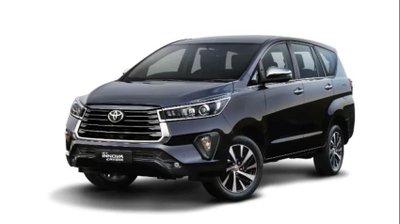 MPV Toyota Innova 2021 facelift cải tiến mới.