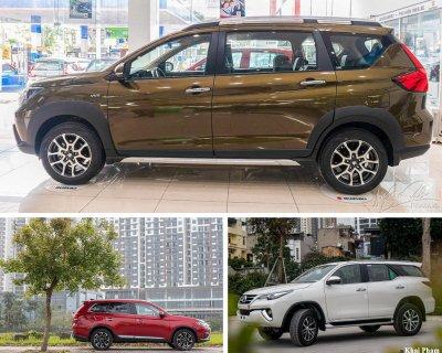 3 dòng xe MPV, SUV và CUV.
