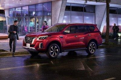 Nissan Terra 2021 mới hiện đại và hấp dẫn hơn.