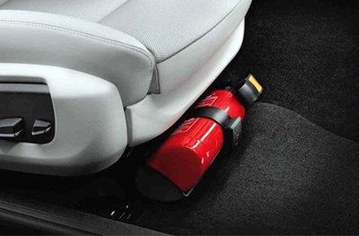Nhiều hãng xe ô tô không thiết kế nơi đặt bình cứu hỏa 1
