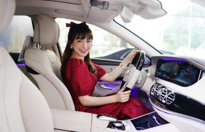 Hoà Minzy chi bạo 5 tỷ đồng sắm Mercedes-Benz S 450 L Luxury a2