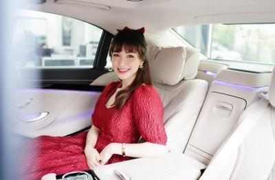 Hoà Minzy chi bạo 5 tỷ đồng sắm Mercedes-Benz S 450 L Luxury a6