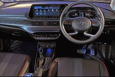 Không gian nội thất Hyundai i20 2020 ra mắt tại Ấn Độ 1