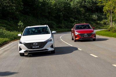 Hyundai Accent 2021 vẫn giữ nguyên khối động cơ 1.4L.