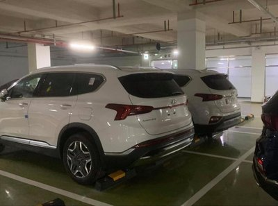 Hyundai Santa Fe 2021 lộ ảnh về Việt Nam, TC Motor phủ nhận a2
