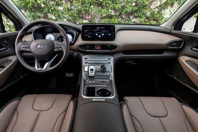 Chiêm ngưỡng vẻ đẹp của Hyundai Santa Fe 2021 sắp bán ở Việt Nam a12