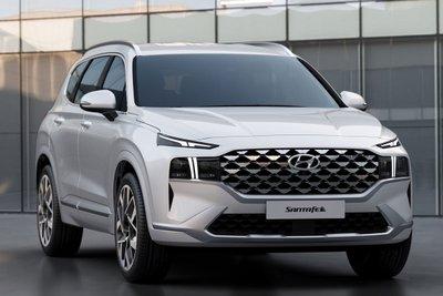 Chiêm ngưỡng vẻ đẹp của Hyundai Santa Fe 2021 sắp bán ở Việt Nam a2