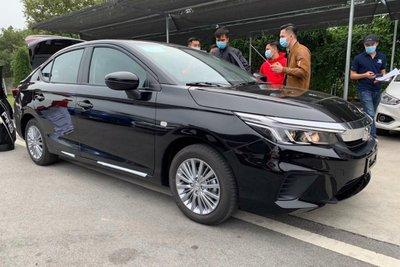 Tiếp tục lộ diện thêm phiên bản Honda City 2021 mới tại Việt Nam.