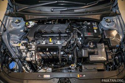 Động cơ xe Hyundai Elantra 2021 1