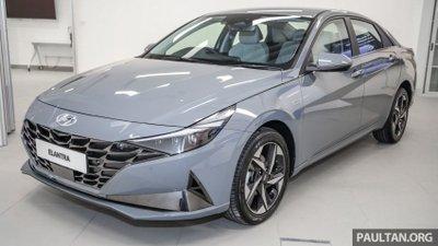Thiết kế xe Hyundai Elantra 2021 1